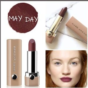 MARC JACOBS NEW NUDE GEL LIPSTICK- MAY DAY